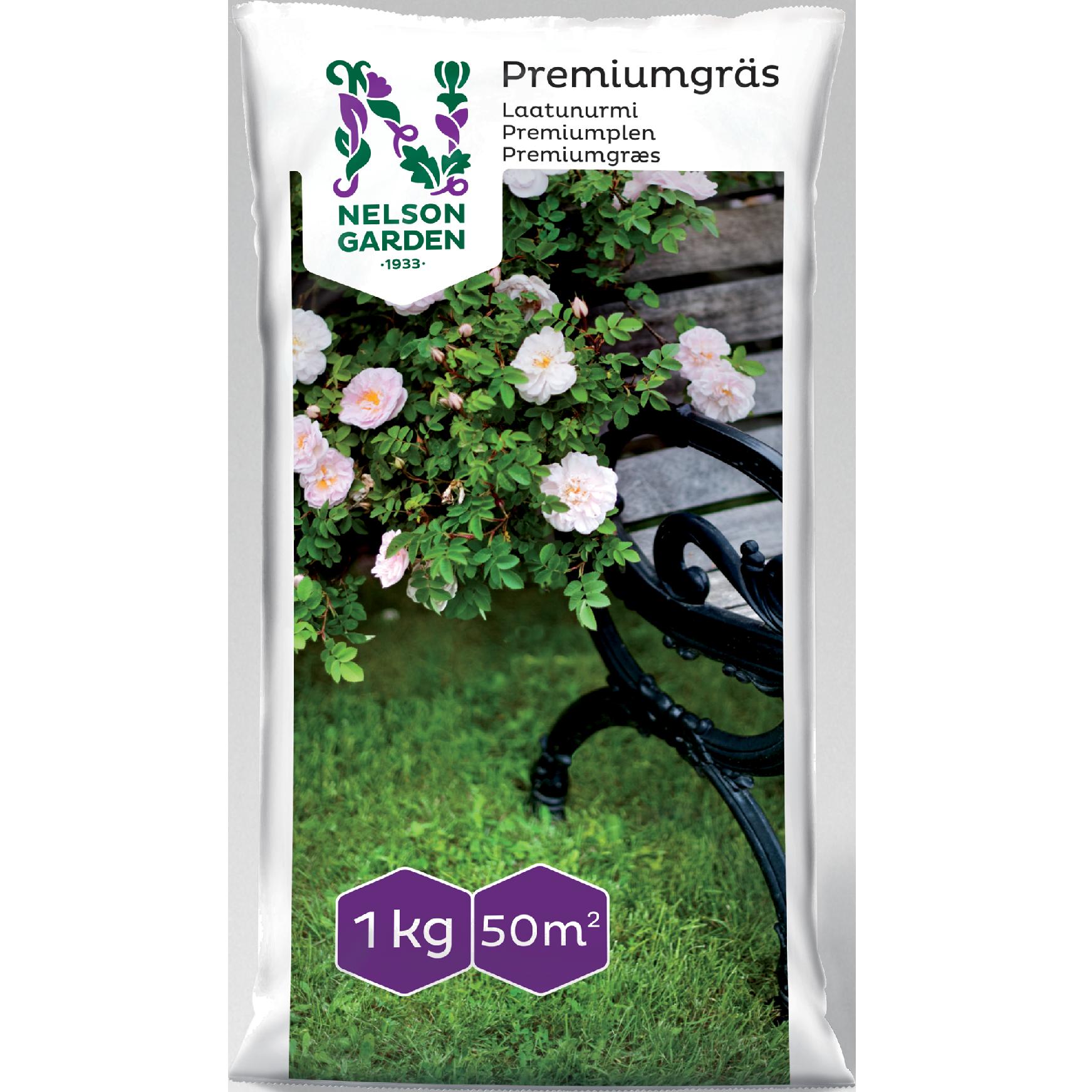 Gräsfrö Premiumgräs 1kg