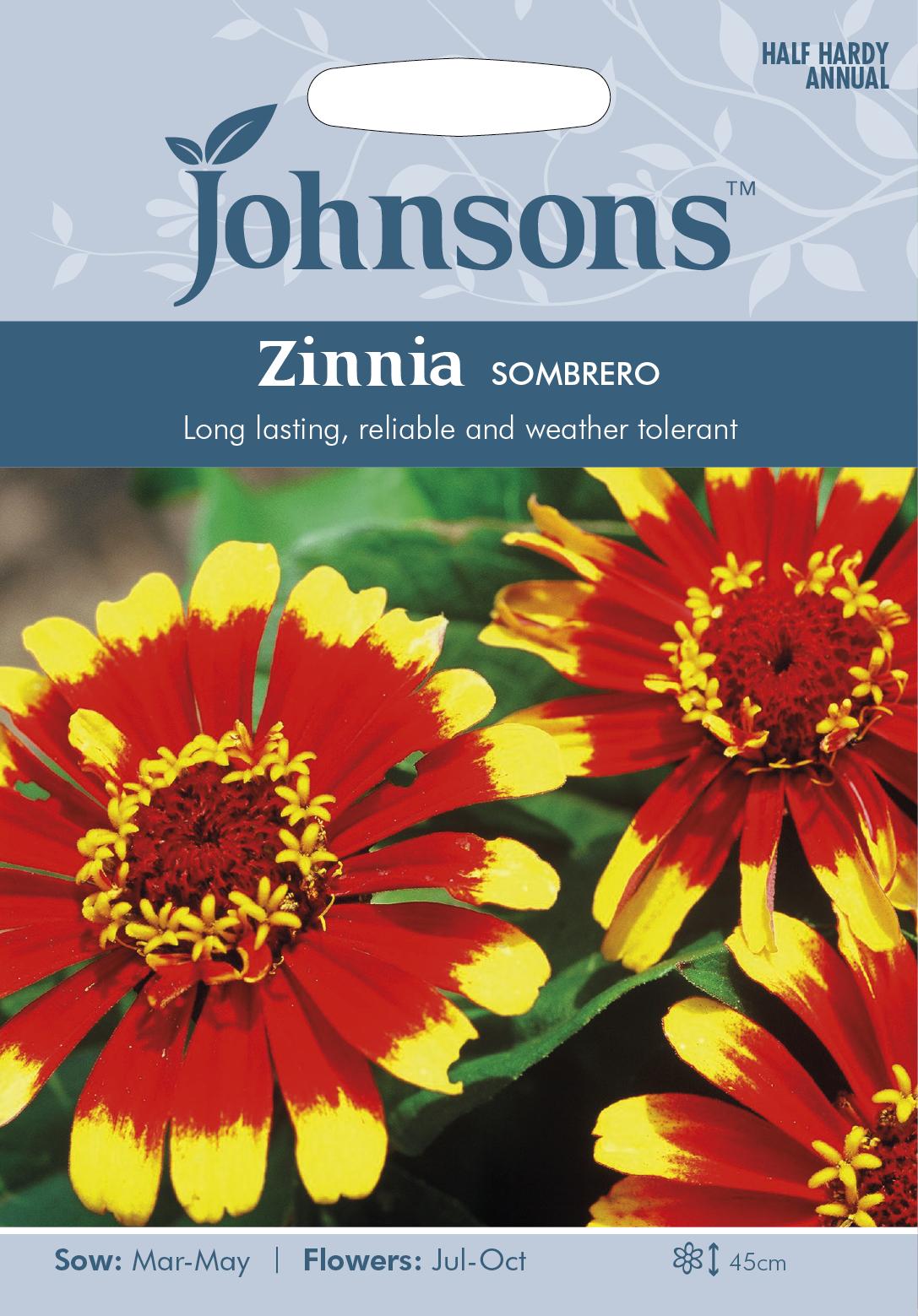 Zinnia 'Sombrero
