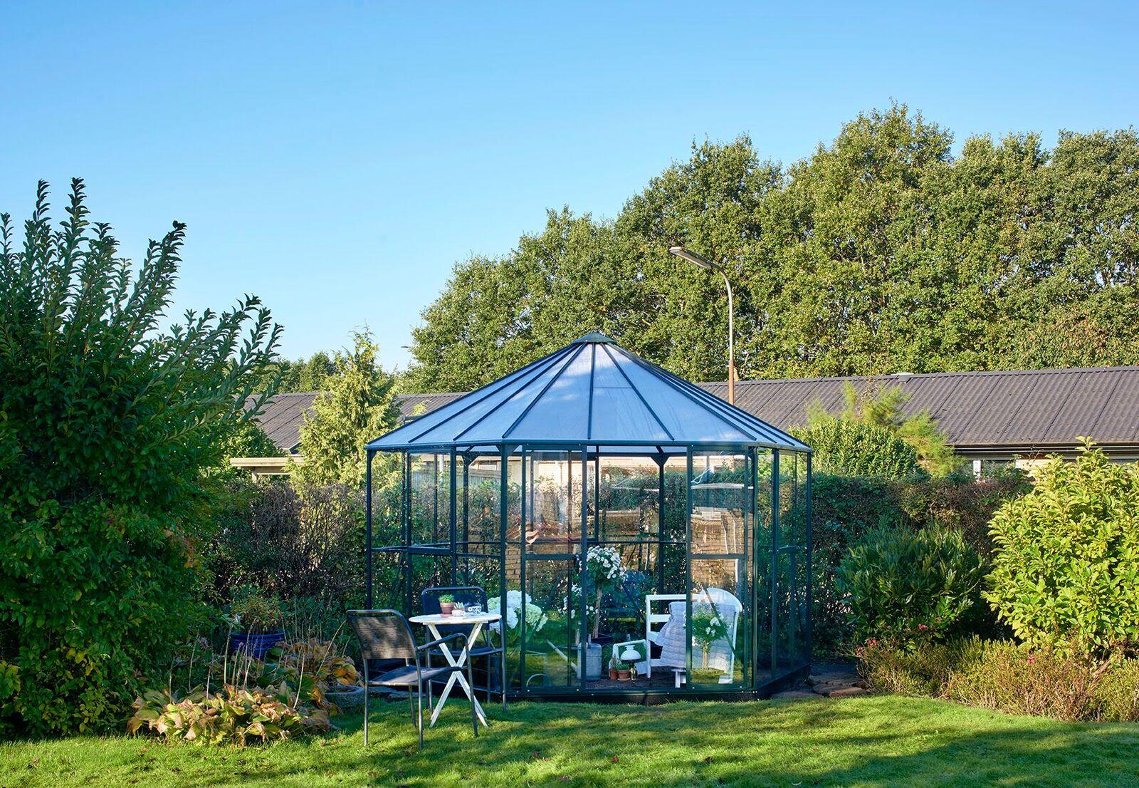 Växthus- Atrium Grön 9m2