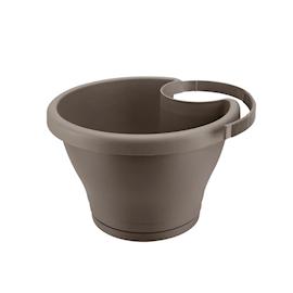 corsica-drainpipe-clicker-24cm-taupe-1
