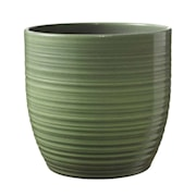 kruka-bergamo-16cm-leave-green-glaze-1