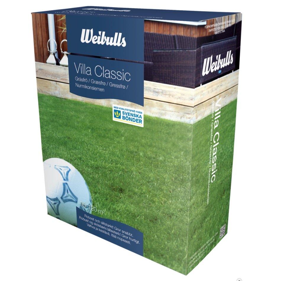 Weibulls Gräsfrö Villa Classic 3kg