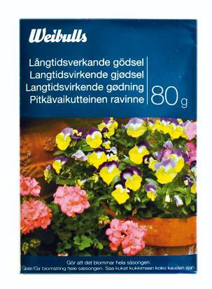 Långtidsverkande gödsel, 80 g