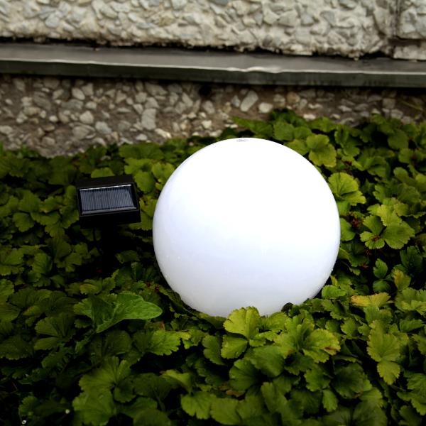Solenergi trädgårdsklot 20cm