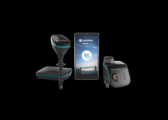 Smart System Set: Gateway, Smart Sensor, Smart Water Control