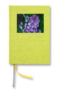Trädgårdsdagbok Inbunden Textil Ängsgrön A5