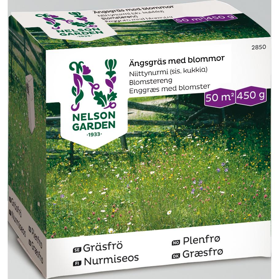 Gräsfrö 'Ängsgräs med blommor' 0.45kg