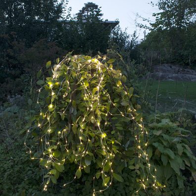 Dew Drop ljusslinga, Outdoor LED 360