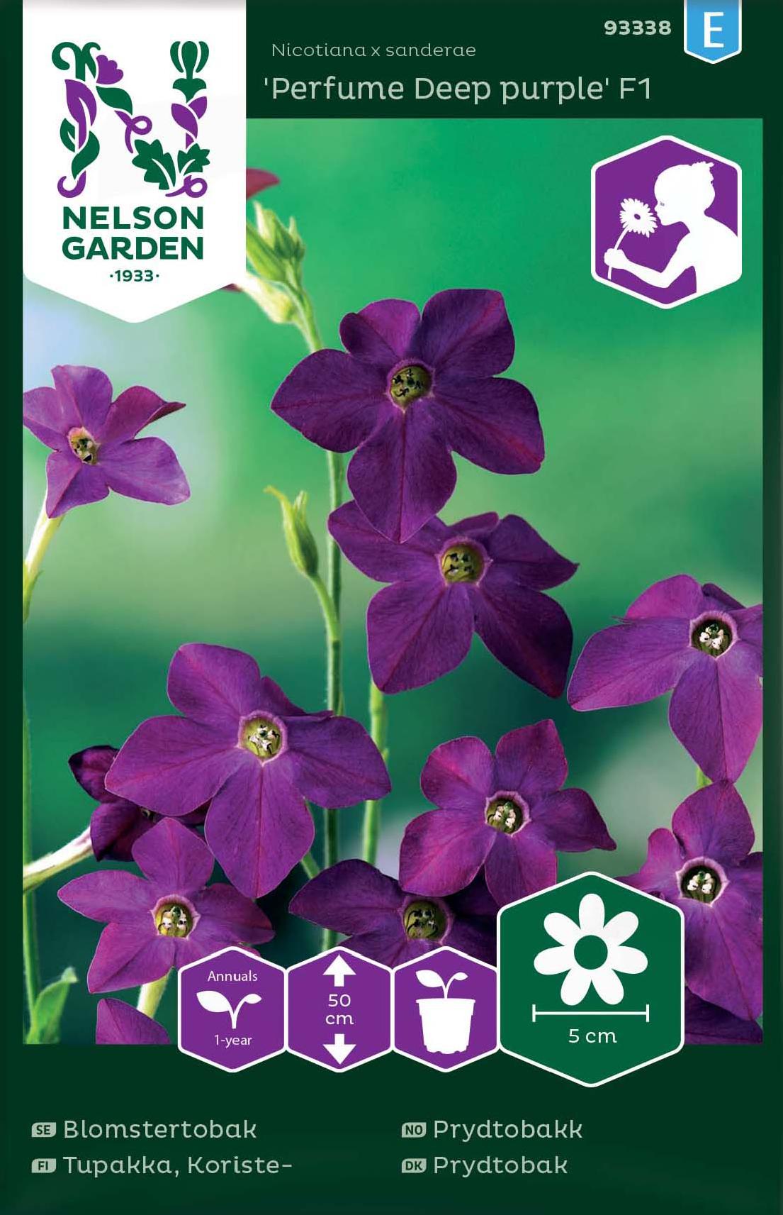 Blomstertobak, Perfume Deep Purple F1