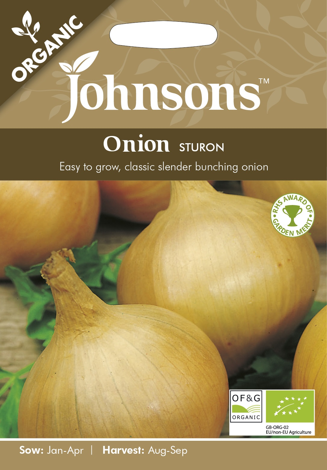 Lök 'Sturon' Organic