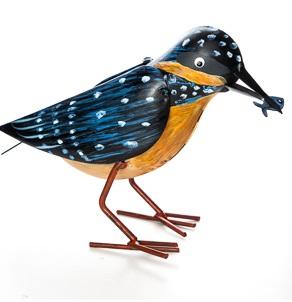 Fågel Orange/Svart