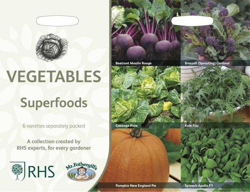 Grönsaker 'Superfoods' 6 sorter