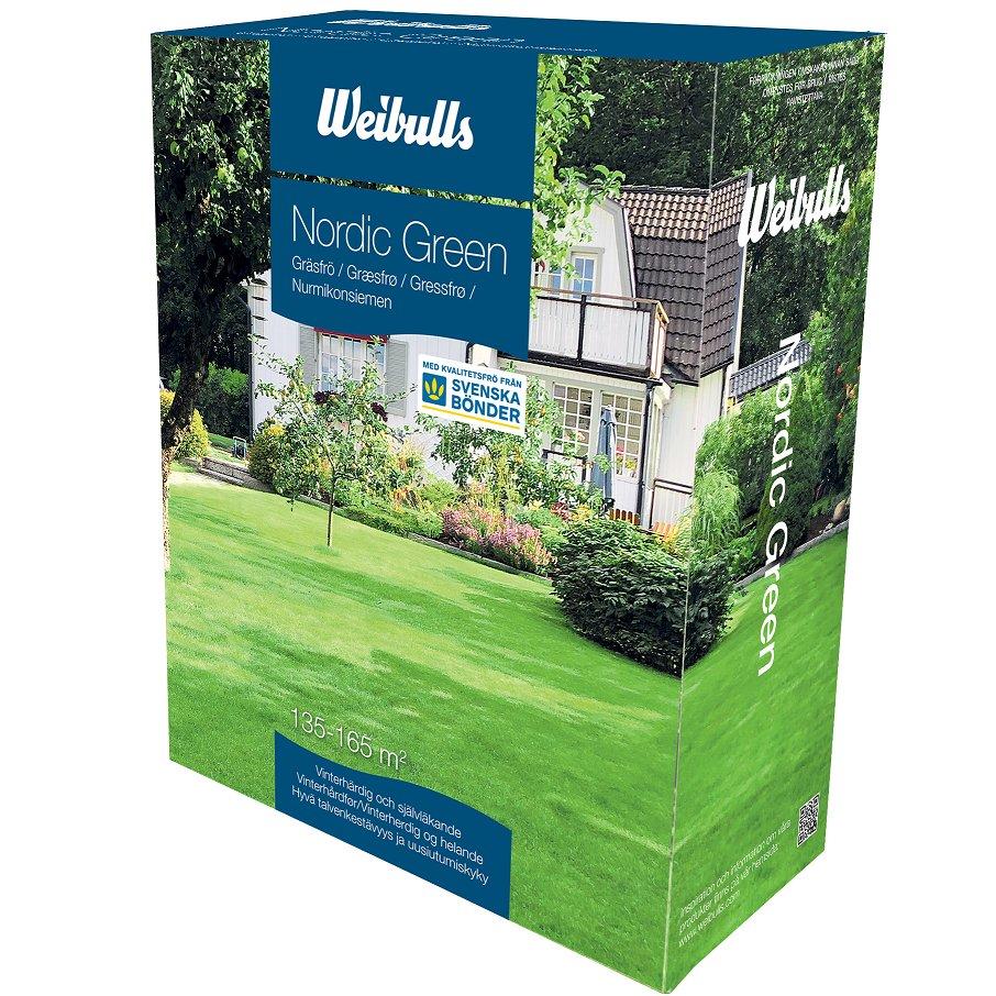 Weibulls Gräsfrö Nordic Green 3kg