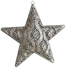 dekorations-stjrna-silver-h18-1