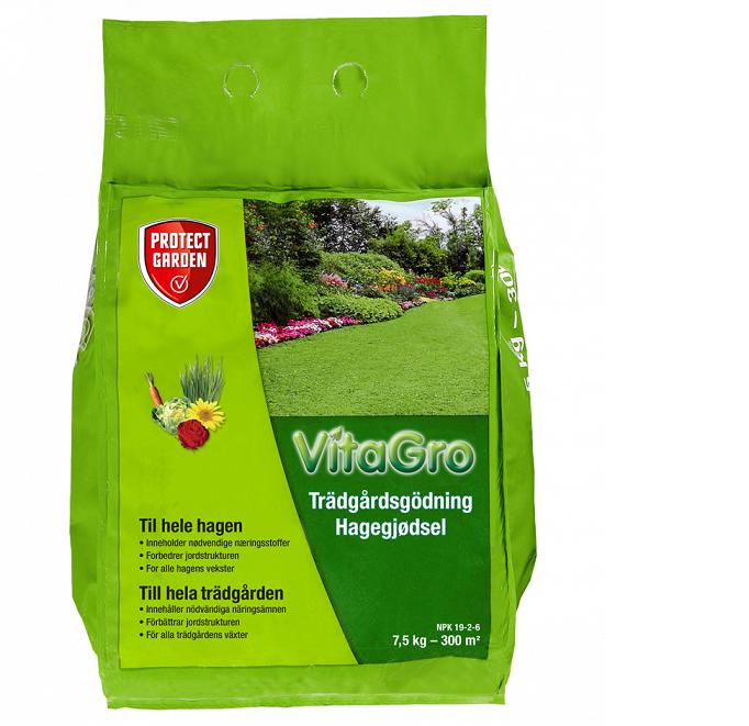 VitaGro Trädgårdsgödsel 7,5kg