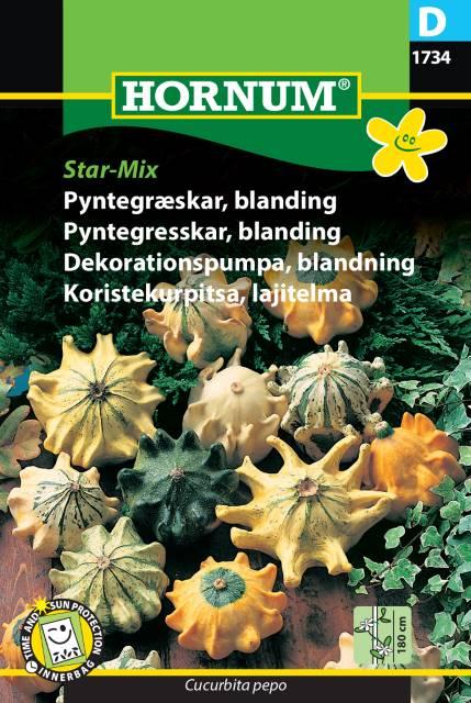 Dekorationspumpa, blandning Star-Mix