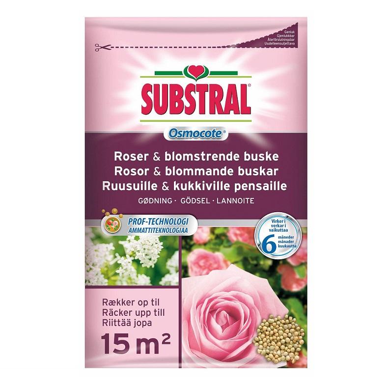Substral Osmocote Rosgödsel 0,8 kg