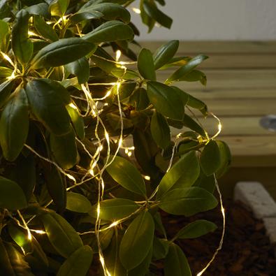 Dew Drop ljusslinga, Outdoor LED 2m