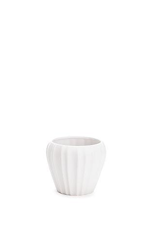 Allium kruka, mattvit D11cm