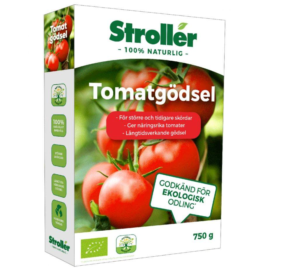 Stroller Tomatgödsel Ekologisk 750g