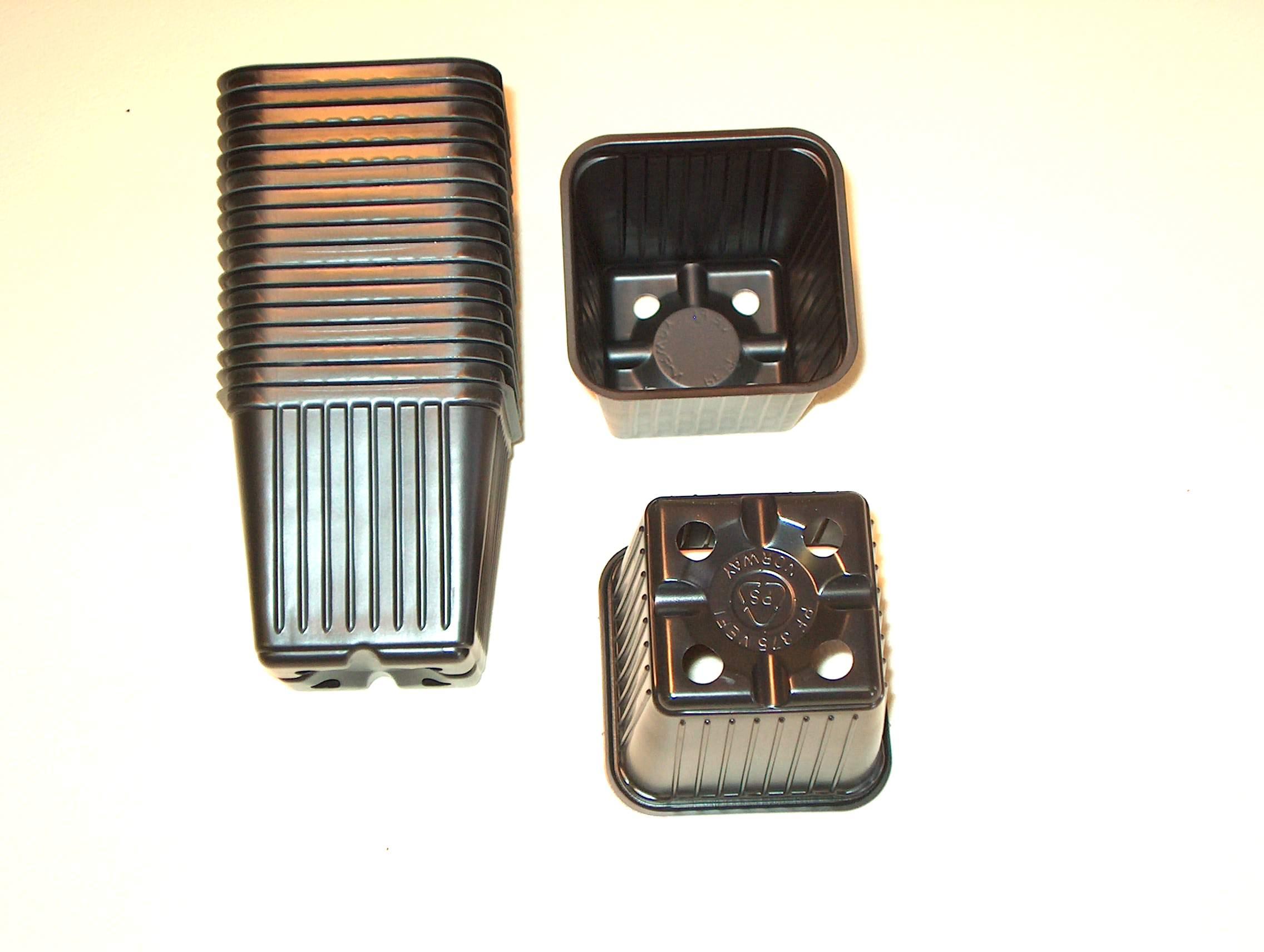 770705/Vefi kruka, Mjuk 7,5x7,5cm- 5-pack