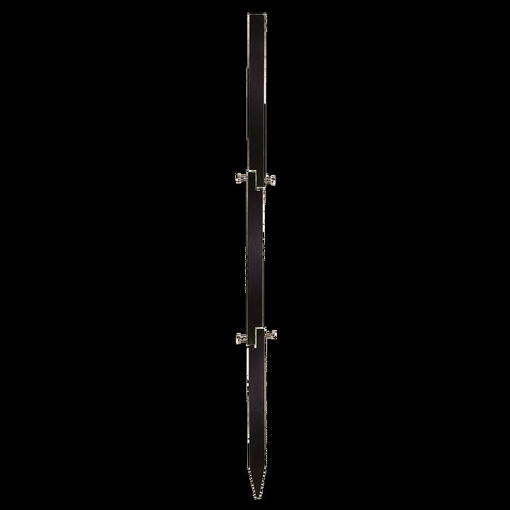 Tredelad Stolpe, Svart 120cm