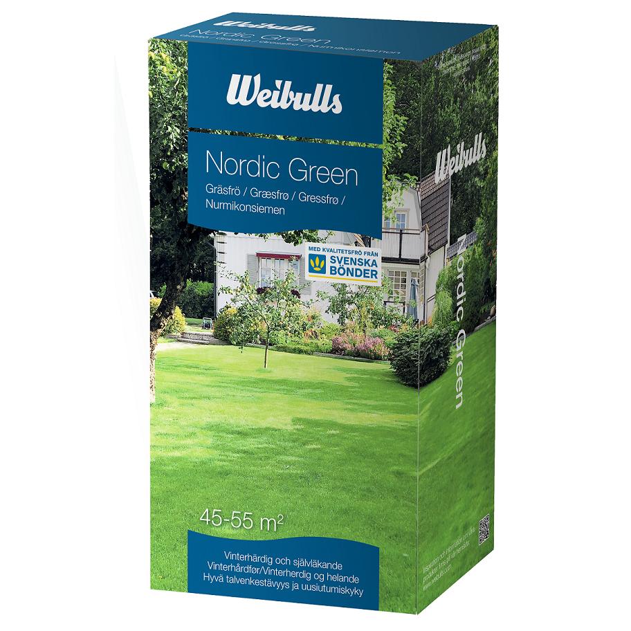 Weibulls Gräsfrö Nordic Green 1 kg