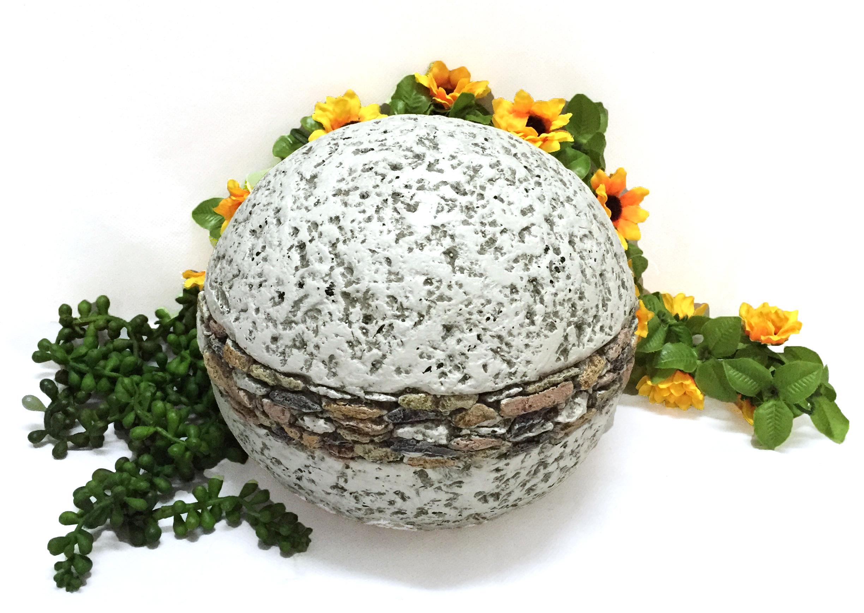 Boll av granit, D19,5cm- 1st