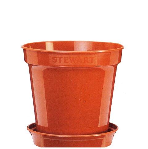 Plastkruka 15', Terracotta