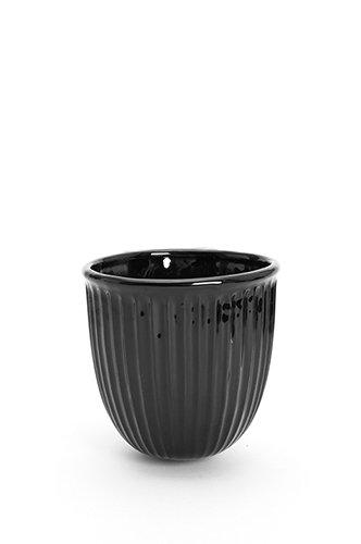 Ampel Vägg Svart D13cm