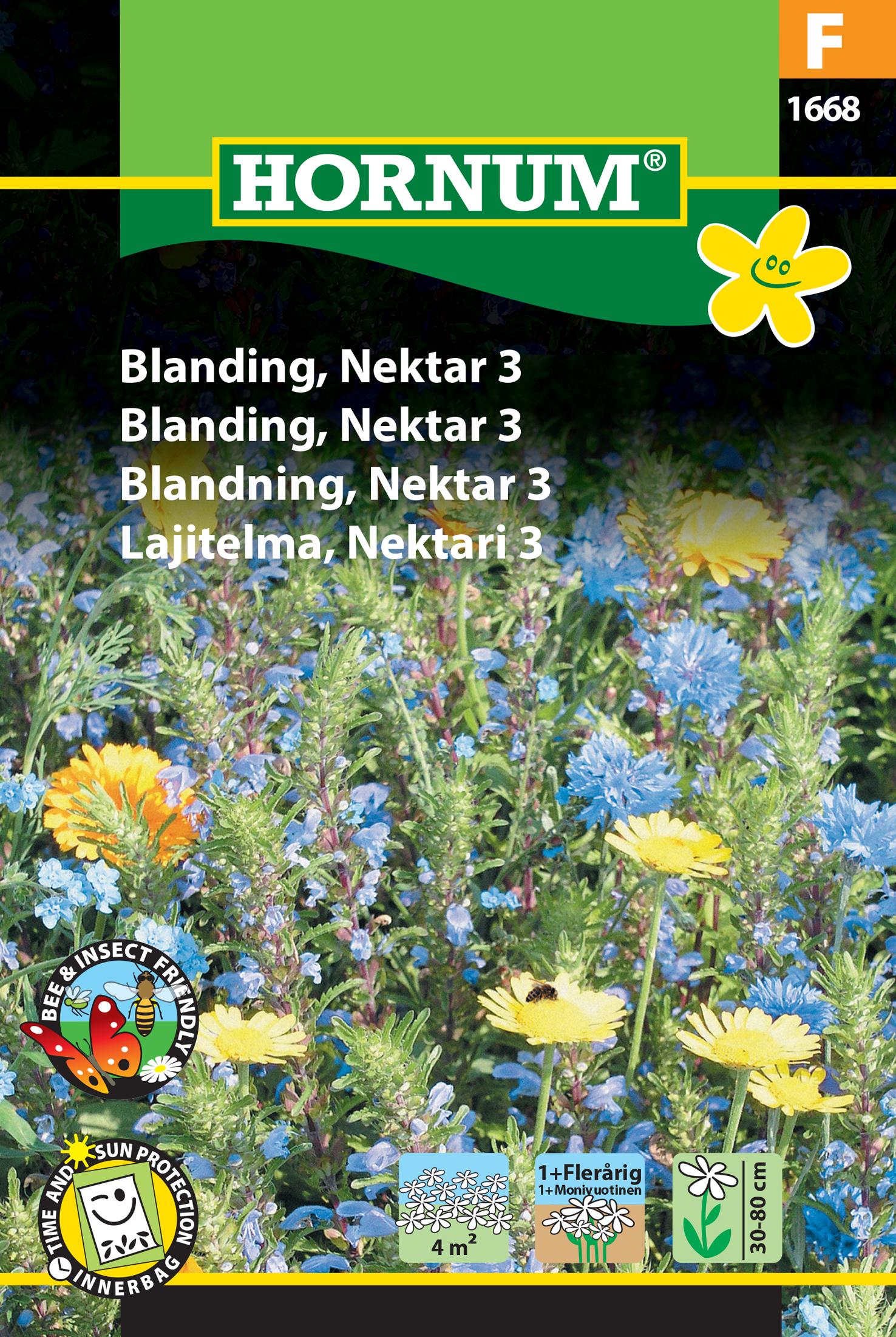 Blomster blandning, Nektar 3